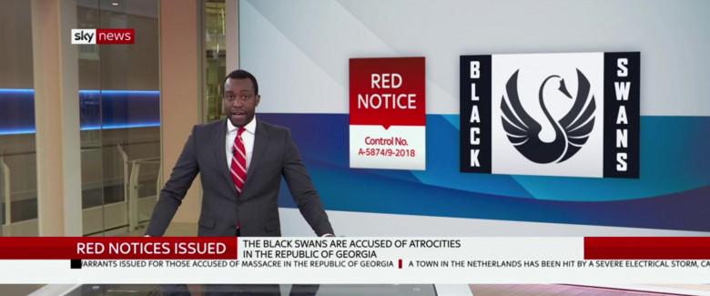 Sky News in SAS Red Notice (1)