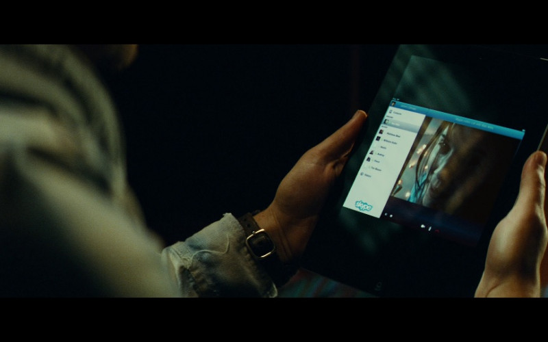 Skype App in Taken 2 (2012)
