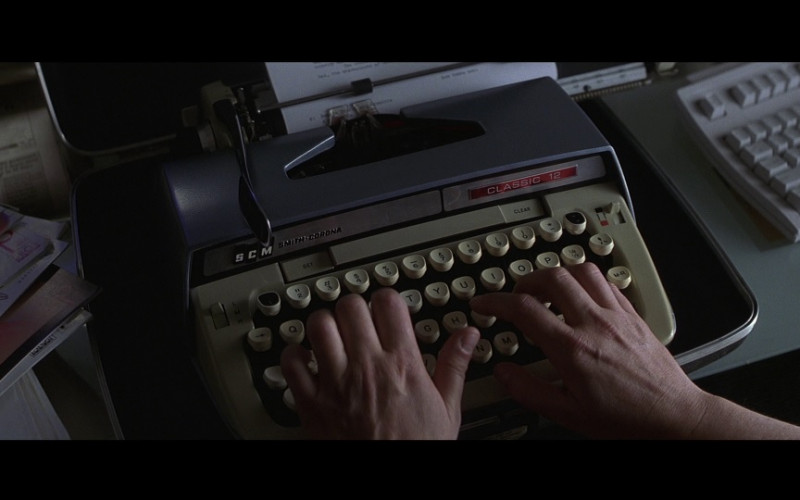 Smith-Corona Classic 12 Typewriter in Mercury Rising (1998)