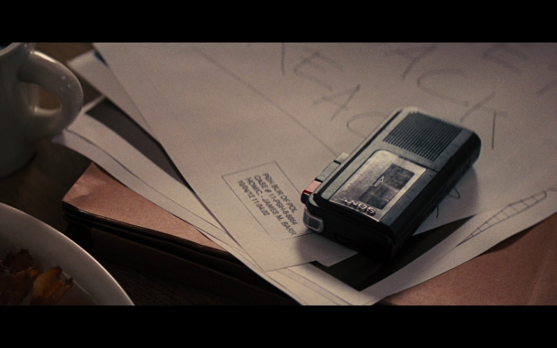 Sony Dictaphone in Jack Reacher (2012)
