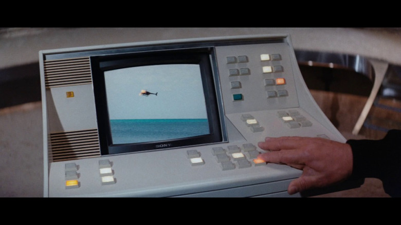 Sony Monitor in The Spy Who Loved Me (1977)