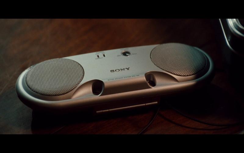 Sony SRS-T80 Personal Speakers in Taken (2008)