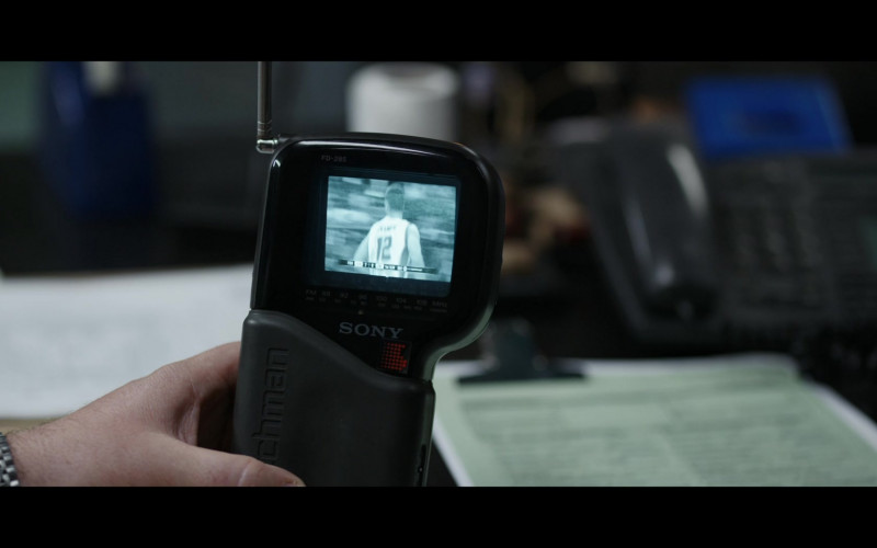 Sony Watchman FD-285 Portable TV in The Mauritanian (2021)