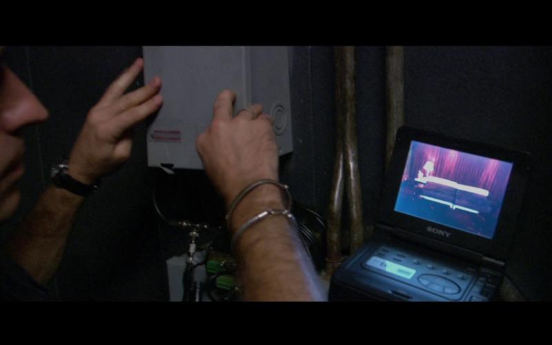Sony portable device in Miami Vice (2006)