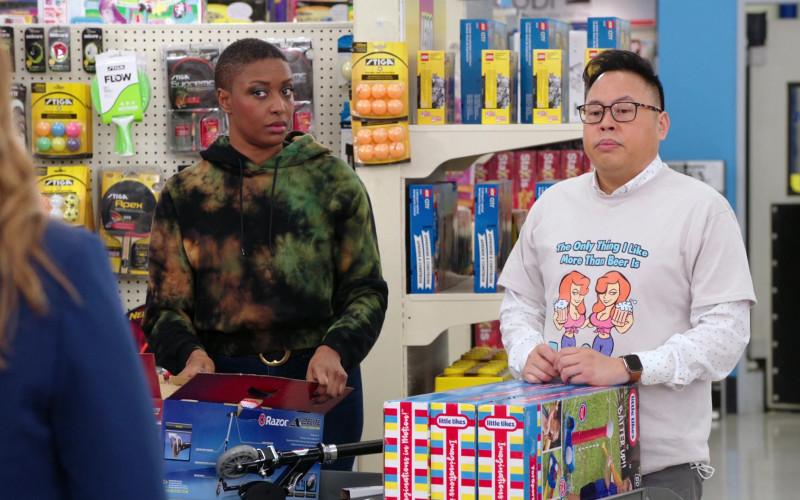 Stiga, Lego, Razor Scooter, Little Tikes in Superstore S06E13 Lowell Anderson (2021)