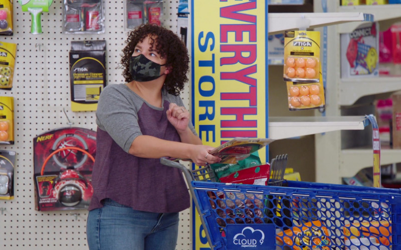 Stiga, Nerf and Cheetos in Superstore S06E15 All Sales Final (2021)