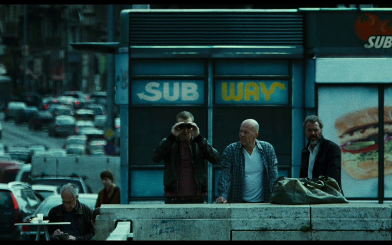 Subway Restaurant in A Good Day to Die Hard (2013)