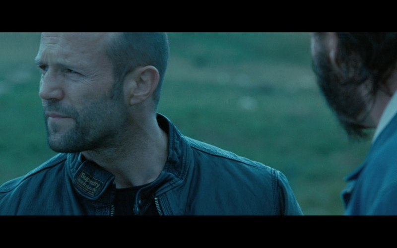 Superdry Leather Jacket of Jason Statham as Mercenary Danny Bryce in Killer Elite (2011)