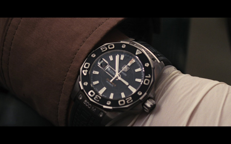 TAG Heuer Aquaracer 500m Calibre 5 Men's Watch in Jack Reacher (2012)
