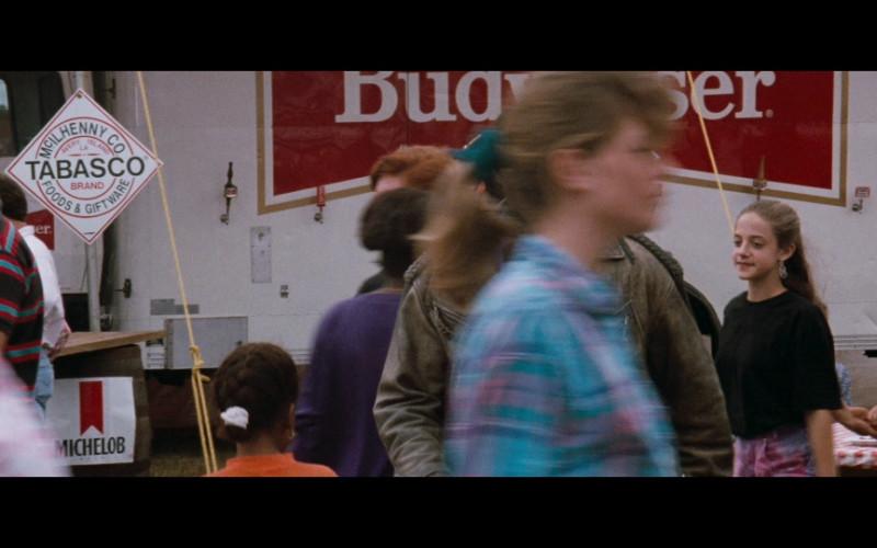 Tabasco, Budweiser & Michelob in Passenger 57 (1992)