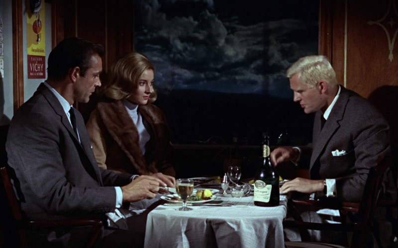 Taittinger Champagne Bottle in From Russia with Love (1963)