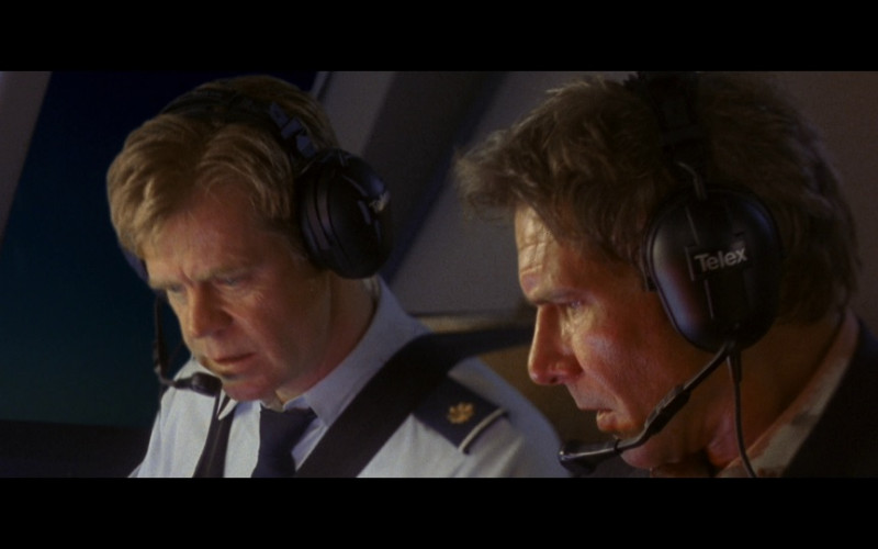 Telex Headset of Harrison Ford as President James Marshall in Air Force One (1997)