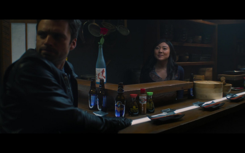 Tiger Beer in The Falcon and the Winter Soldier S01E01 New World Order (2021)