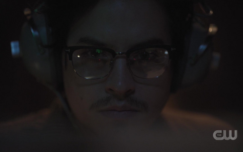 Tom Ford Eyeglasses of Cast Member Cole Sprouse as Jughead Jones in Riverdale S05E09 Chapter Eighty-Five Destroyer (2021)