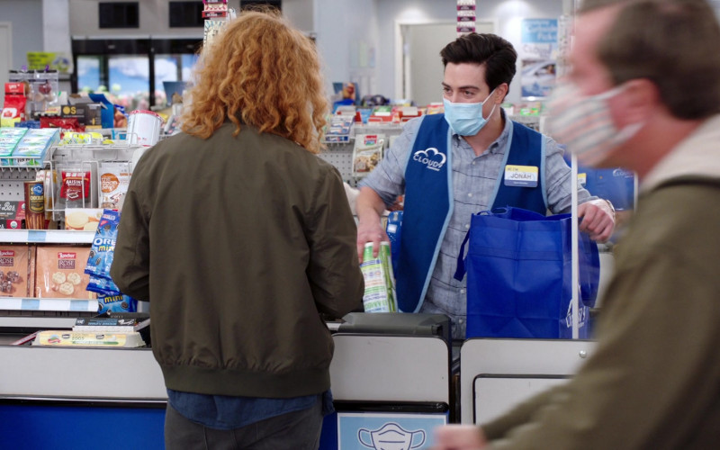 Trident Gums, Mighty Bars, Loacker Rose of the Dolomites, Oreo in Superstore S06E12 Customer Satisfaction (2021)
