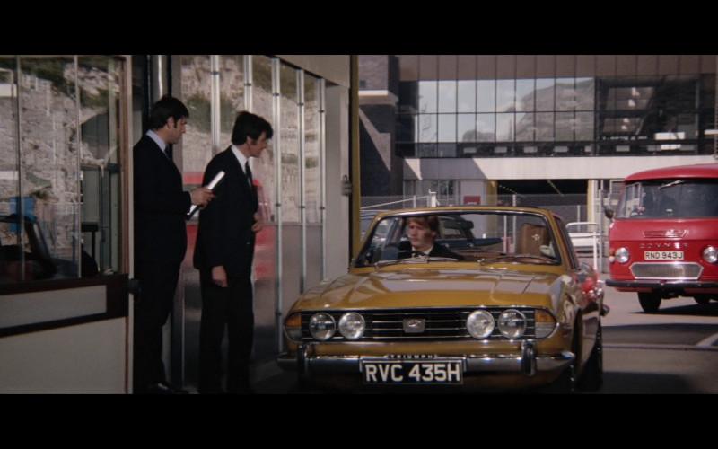 Triumph Stag Mk1 Car in Diamonds Are Forever FIlm (1)