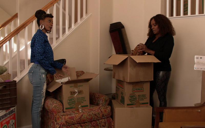 U-Haul Boxes in Shameless S11E09 TV Show (1)