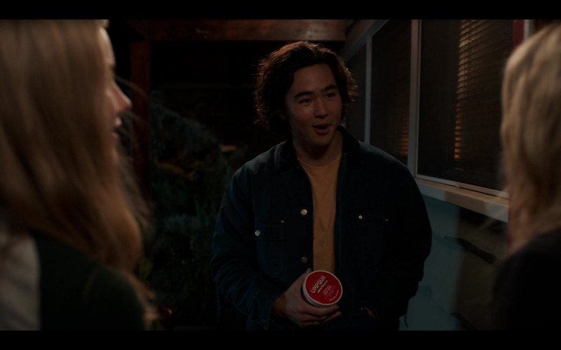 Umpqua Dairy Ice Cream Held by Nico Hiraga as Seth Acosta in Moxie (2021)