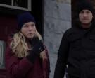 Under Armour Gloves of Cast Member Tracy Spiridakos as Detec...