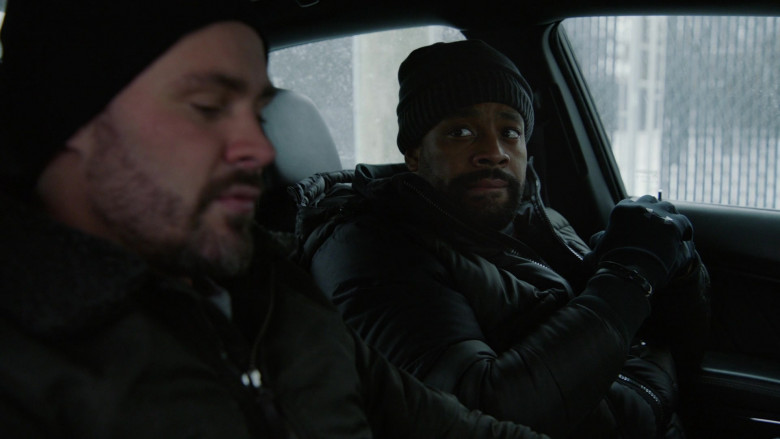 Under Armour Gloves of Cast Member LaRoyce Hawkins as Officer Kevin Atwater in Chicago P.D. S08E09 TV Show