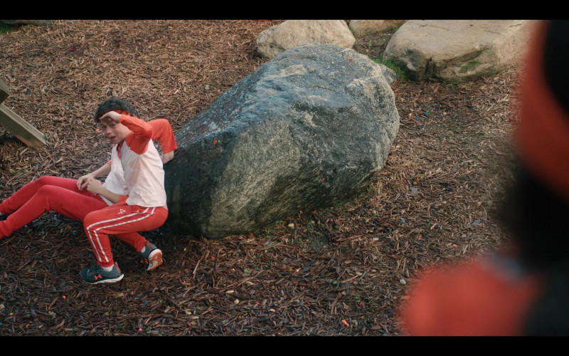 Under Armour Sneakers of Julian Lerner as Nando Torres in Yes Day (2021)