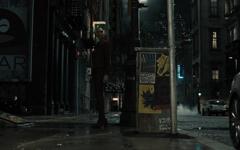 Under Armour Store Sign in Zack Snyder's Justice League (2021)