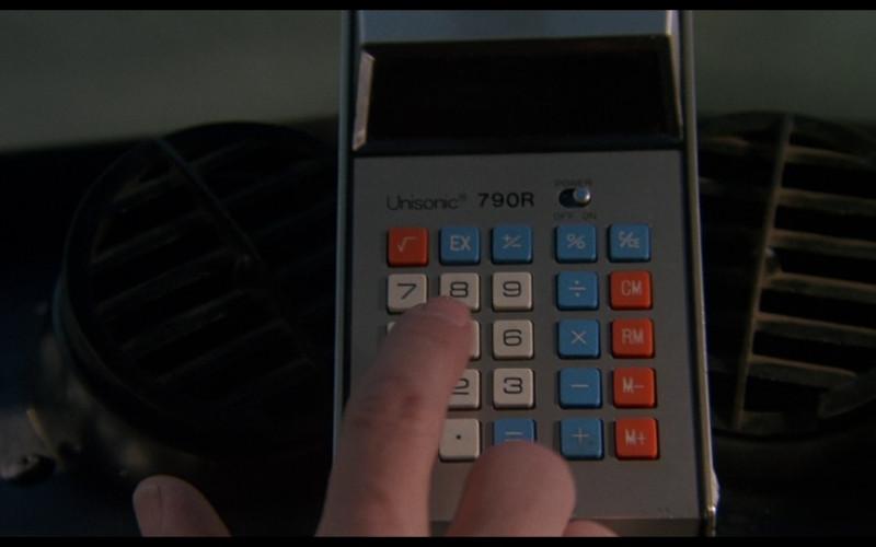 Unisonic 790R calculator in Smokey and the Bandit (1977)