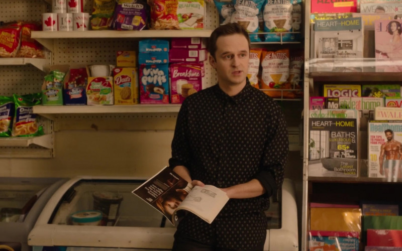 Welch's, Dare Foods Viva Puffs and Breaktime Cookies, Beanitos Snacks in Kim's Convenience S05E10 Who's Pranking Who (2021)