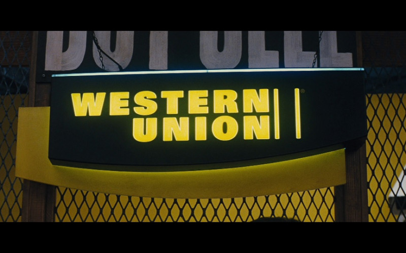 Western Union in Jack Reacher (2012)