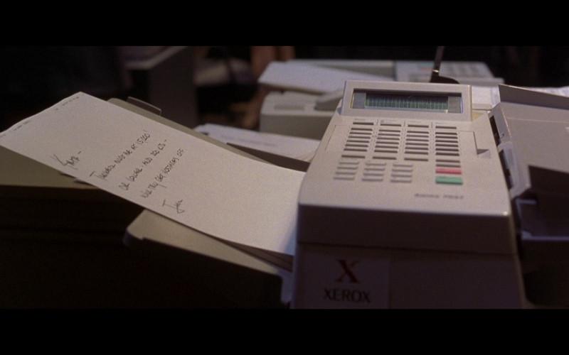 Xerox Fax Machine in Air Force One (1997)