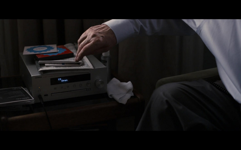 Yamaha CD Player in The Father (2020)