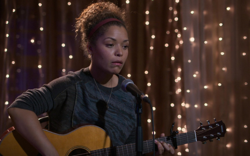 Yamaha Guitar of Antonia Thomas as Dr. Claire Browne in The Good Doctor S04E11 TV Show