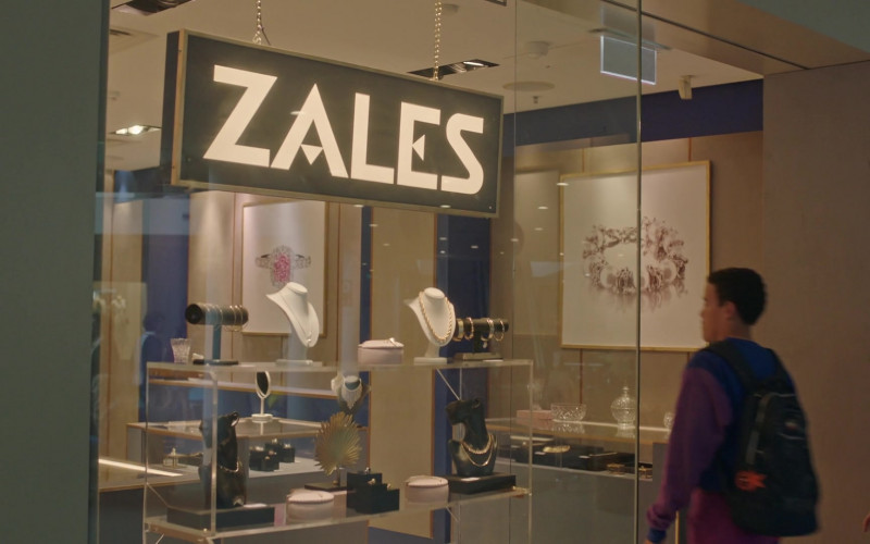 Zales Jewelry Store in Young Rock S01E05 TV Show (1)