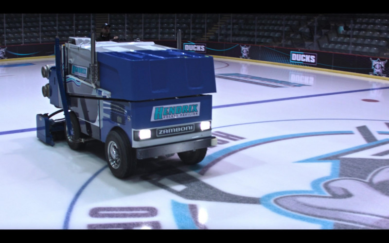 Zamboni Ice Resurfacer in The Mighty Ducks Game Changers S01E01 Game On (2021)