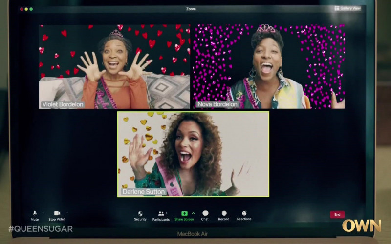 Zoom Video Conferencing Software in Queen Sugar S05E05 (1)