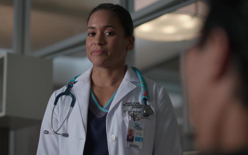 3M Littmann Stethoscope of Shalyn Ferdinand as Dr. Heather Boyd in The Good Doctor S04E14 Gender Reveal (2021)