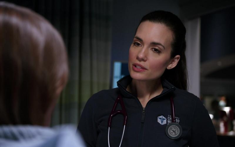3M Littmann Stethoscopes Used by Doctors in Chicago Med S06E10 TV Show (4)