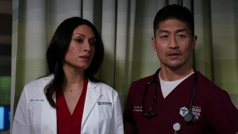 3M Littmann Stethoscopes Used by Doctors in Chicago Med S06E11 TV Show 2021 (4)