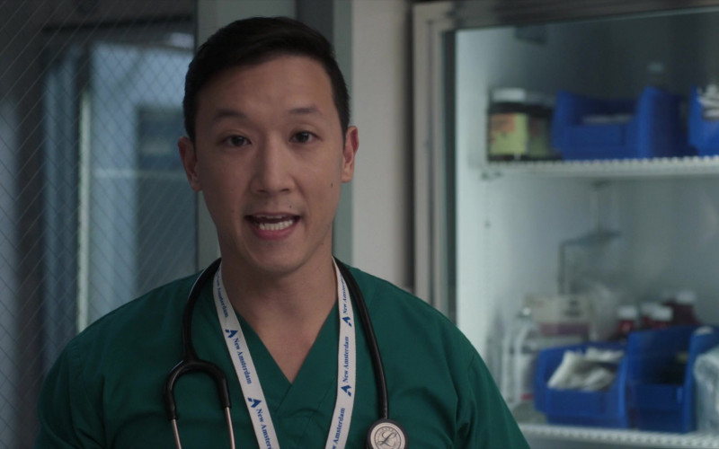 3M Littmann Stethoscopes Used by Doctors in New Amsterdam S03E06 TV Show (3)