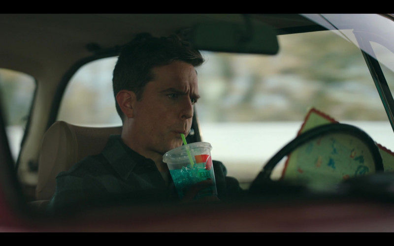 7-Eleven Drink of Ed Helms as Nathan Rutherford in Rutherford Falls S01E10 D'Angelos (2021)