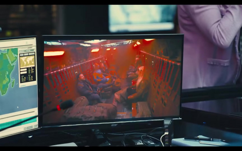 Acer Computer Monitor in The Suicide Squad 2 (2021)