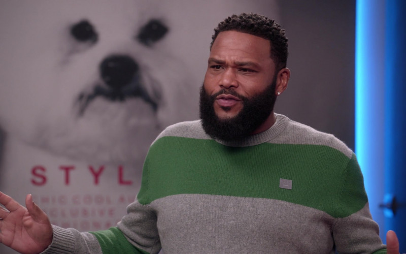 Acne Studios Sweater of Anthony Anderson as Andre 'Dre' Johnson in Black-ish S07E19 (1)