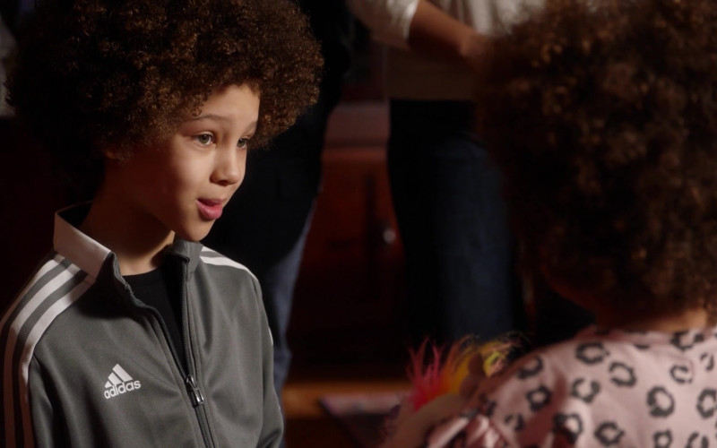 Adidas Black Track Jackets For Boys in 9-1-1 S04E10 Parenthood (2021)