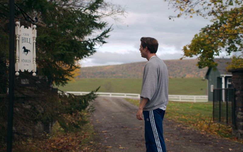 Adidas Blue Track Pants of James Norton as George in Things Heard & Seen (3)