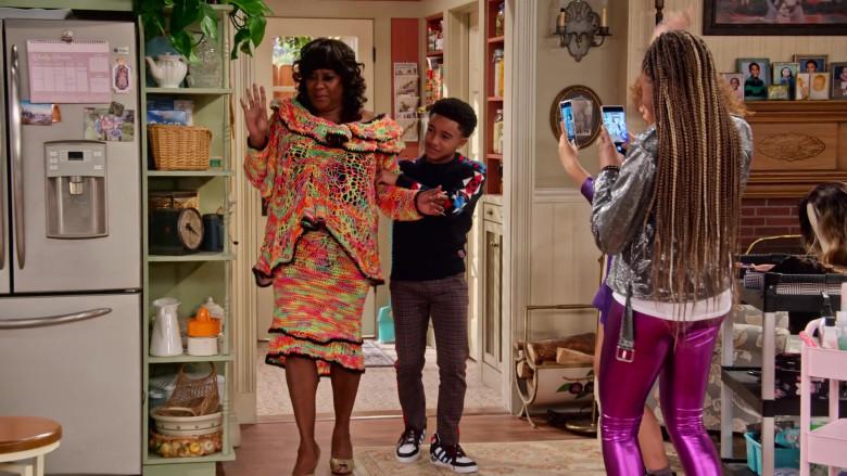Adidas Extaball Sneakers of Cameron J. Wright as Mazzi McKellan in Family Reunion S03E06