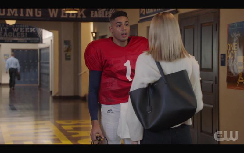 Adidas Football Pants of Michael Evans Behling as Jordan Baker in All American S03E09 Testify (2021)