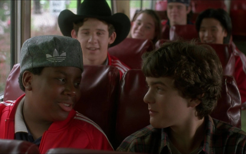 Adidas Hat of Kenan Thompson as Russ Tyler #56 (Mighty Ducks Player) in D3 The Mighty Ducks 1996 Movie (1)