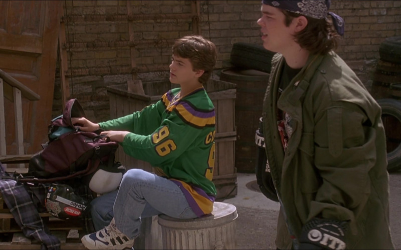 Adidas Men's Sneakers of Joshua Jackson as Charlie Conway #96 in The Mighty Ducks 3 (1)