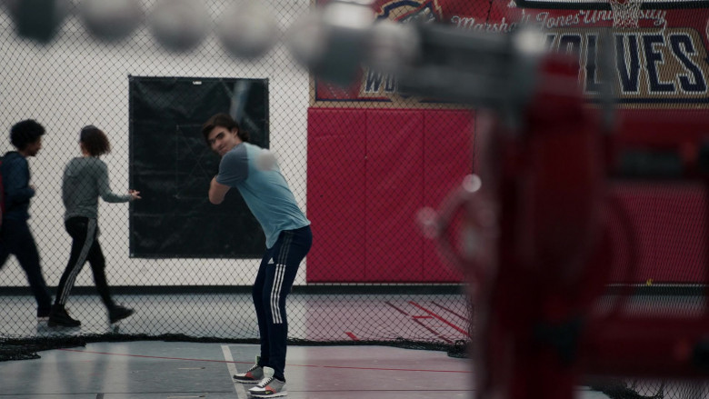 Adidas Men's Track Pants and Nike Sneakers in The Equalizer S01E06 The Room Where It Happens (2021)