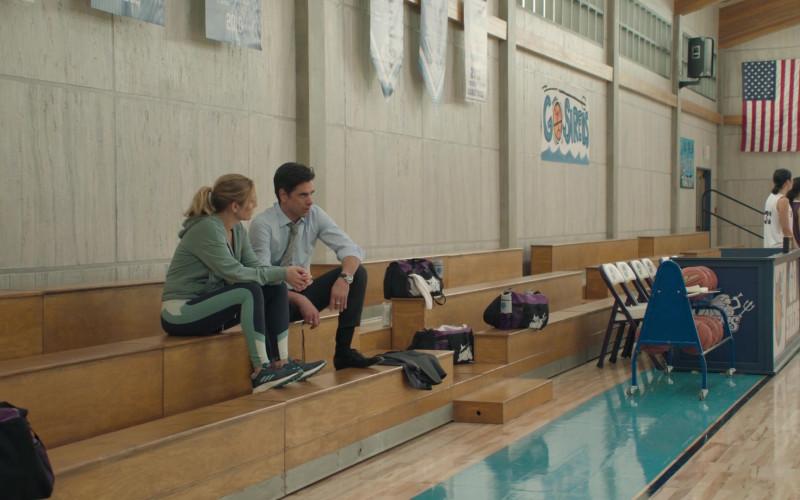 Adidas Ultraboost Running Shoes of Jessalyn Gilsig as Holly Barrett in Big Shot S01E02 TV Show (1)